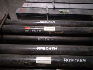 Mayhew threads Drill Rods for Rotary drilling