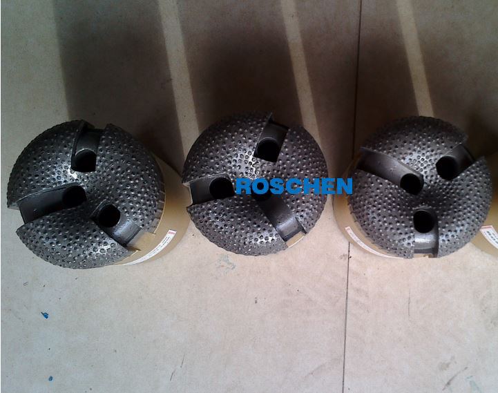 Surface set diamond non coring bits